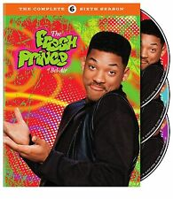 THE FRESH PRINCE OF BEL AIR the complete sixth series 6. UK compatible. New DVD.