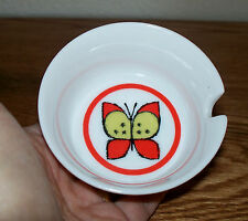 NEW OLD STOCK 60s Butterfly Ashtray Otagiri Japan porcelain Retro Decor