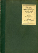 THE CITY OF THE GREAT KING & Places in the Holy Land by W. Phelps, 1926 1st Ed