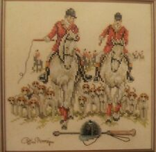 Fox Hunting Cross Stitch Kit Lanarte Life Style Horses Dogs Riders NEW 34486 NIP