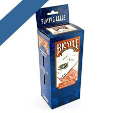 12 x Brand New BICYCLE Playing Cards - Made in USA - Poker   6 x Blue - 6 x Red