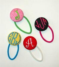 Monogrammed Embroidered Pin On - Magnet - Pony Tail