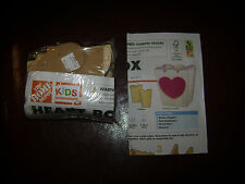 NEW HOME DEPOT KID WORKSHOP WOOD HEART BOX KIT LOWES BUILD GROW WOODEN PROJECT