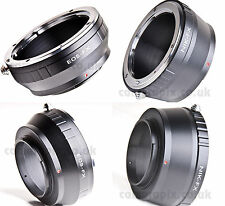 2pcs mount adapter set CANON EOS EF and NIKON lens to FUJI FujiFilm X camera