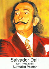 ACEO ORIGINAL PAINTING COLLECTIBLE ART CARD Salvador Dali