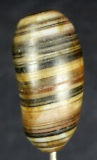 OLD BANDED AGATE BEAD FROM AFGHANISTAN