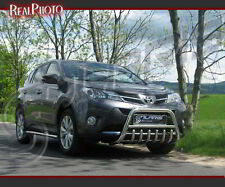 TOYOTA RAV4 MK4 2013+ BULL BAR, NUDGE BAR, A BAR + GRATIS! STAINLESS STEEL