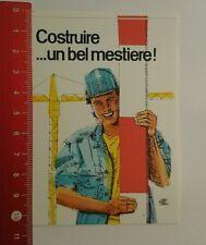 Aufkleber/Sticker: Costruire Un bel mestiere (16081697)