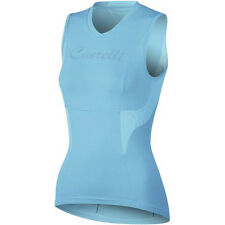 Castelli Dolce Sleeveless Women's Cycling Jersey Turquoise Small