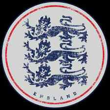 "England National Team Sticker 6"" x 6"" - Three Lions Sticker - StickersFC.com"