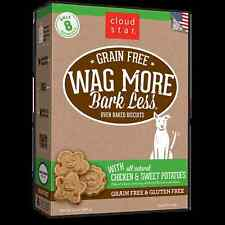 Cloud Star Wag More Bark Less Grain Free Dog Treats Chicken and Sweet Potatoes