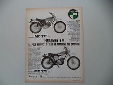 advertising Pubblicità 1974 MOTO PUCH MC 175