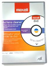 190059 MAXELL DVD Lens Cleaner for DVD Recorder/Player,Gaming system