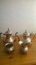 VINTAGE EPNS TEA & COFFEE SERVICE. 4 PIECES. CHARITY SALE