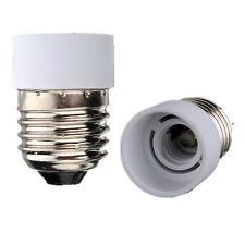 Casquillo portalámpara plástico adaptador E27 A E14 Bombilla Lámpara Lamp Socket