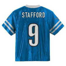 (2016-2017) Detroit Lions MATTHEW STAFFORD nfl Jersey YOUTH KIDS BOYS (m-medium)
