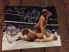"Mr. Wonderful/Paul Orndorff Autographed 8x10 w. ""The Brandon Bull"" Inscription!"