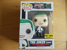 FUNKO POP THE JOKER TUXEDO HOT TOPIC EXCLUSIVE (SUICIDE SQUAD, CHASE)