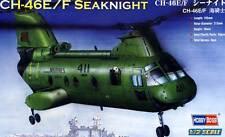HobbyBoss CH-46E/F Seaknight MQ-411 Norfolk HHM-774 Marines 1:72 Modell-Bausatz