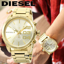 DIESEL MEN'S UNDIRECTIONAL ROTATING GOLD IN GOLD WATCH DZ4268
