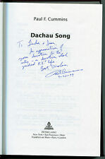 Dachau Song Vol. 66729 by Paul F. Cummins (1992, Hardcover,signed)