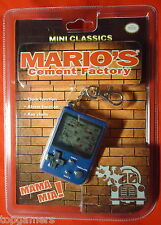 Mario's Cement Factory-Nintendo mini Classics-Game & Watch keychain
