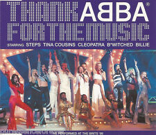STEPS/TINA COUSINS/CLEOPATRA etc - Thank ABBA For The Music (UK 3 Tk CD Single)