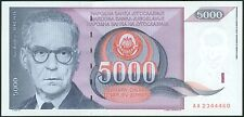 TWN - YUGOSLAVIA 111 - 5000 Dinara 1991 UNC Prefix AA - FREE SHIPPING over €150