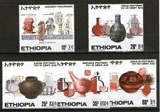 ETIOPIA 1969 ANTICHE CERAMICHE SERIE NUOVISSIMA