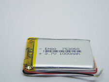 3.7V 1000mAh  Lithium Polymer LiPo Rechargeable Battery (USA STOCK)