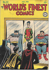World's Finest Comic Book #32, DC Comics 1948 VERY GOOD+