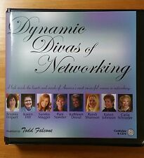 Todd Falcone Dynamic Divas of Networking CD Set MLM Training Recruiting Success
