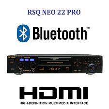 NEW RSQ NEO 22 PRO Digital Bluetooth Karaoke Player CDG MP3G Karaoke Machine