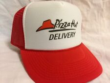 Pizza Delivery Costume Hat  Easy & Quick Halloween low cost Adjustable rush ship