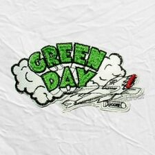 Green Day Dookie Plane Logo Embroidered Patch Rock Band Billie Joe Armstrong