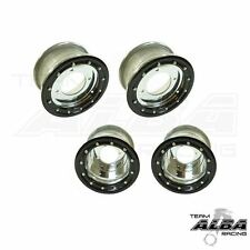 YFZ 450 450R  Front   Rear wheels  Beadlock  10x5 and 8x8  Alba Racing  sl/bk 41