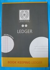 SILVINE BOOKKEEPING LEDGER ACCOUNTS BOOK - 32 Page A4