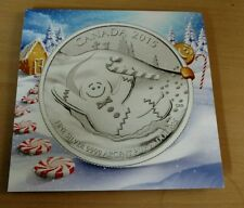2015 Canada $20 for $20 Fine Silver Coin – Gingerbread Man