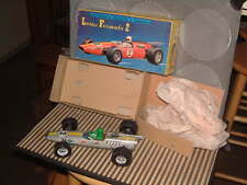"DAIYA VINTAGE B/O, TIN & PLASTIC ""LOTUS FORMULA 2"" W/2-SPEEDS! WORKING W/BOX!"