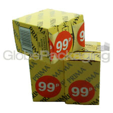 "Box of 500 "" 99p "" Retail Shop Price Labels Self Adhesive Stickers QUALITY 45mm"
