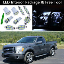 7PCS Bulbs White LED Interior Lights Package kit Fit 09-2013 Ford F-150 F150 J1