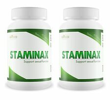 2 Bottles STAMINAX Stamina Pills Long Lasting Sex Cure Premature Ejaculation