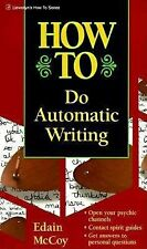 How to Do Automatic Writing Llewellyn's How to