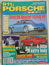 911 & Porsche World No 60 Mar 1999 Boxster, Techart 996