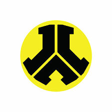 Defqon.1 Black and Yellow 10cm x 10cm Sticker