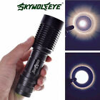 4000LM Zoomable Cree XML T6 5 Modes 18650 AAA Police LED Flashlight Lamp Torch