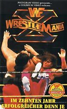 WWF Wrestlemania X 1994 ORIG VHS WWE Wrestling deutsche Version