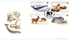Chile 1984 FDC Endangered Species WWF Animales en Peligro de Extincion