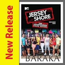 JERSEY SHORE Complete Season 6 DVD 4 Disc Set Uncensored R1 New & Sealed
