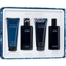 Cool Water by Davidoff for Men - 4 Pc Gift Set